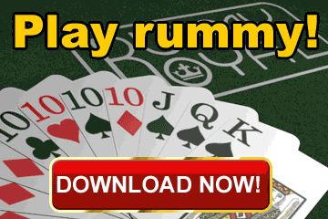 Play Rummy! Win Money! $200 Welcome Bonus!   India Poker