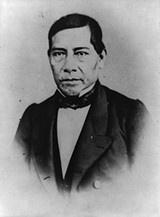 """El Presidente Benito Juarez afirmo que """"el respeto al derecho ajeno es la Paz"""", Presidente de México 1858-1861, 1861-1865,1865-1867 y de 1867-1872."""