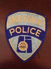 Obsolete Garden Grove Police Patch - CA - California - Orange County