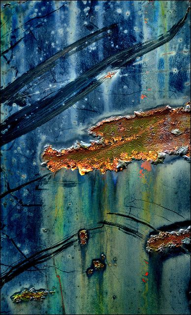 Rust   さび   Rouille   ржавчина   Ruggine   Herrumbre   Chip   Decay   Metal   Corrosion   Tarnish   Texture   Colors   Contrast   Patina   Decay  