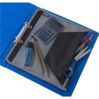 Rexel Advance Zip Pouch Extra Large Black Ref 2103781 113053 Bates Office