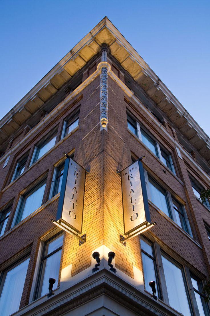 Hotel Rialto in the heart of Victoria British, Columbia...small boutique hotel