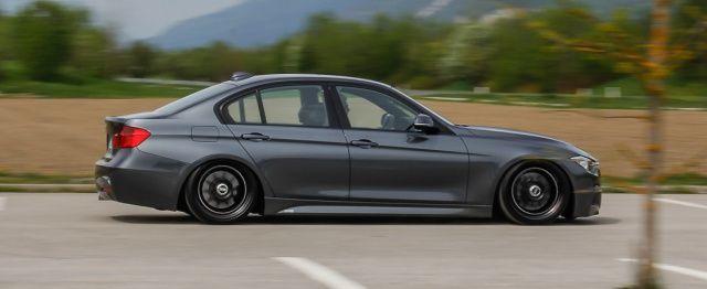 BMW 330d mit BBS-Felgen und Gewindefahrwerk flachgelegt: Pauls flotter Dreier - Auto der Woche - VAU-MAX - Das kostenlose Performance-Magazin