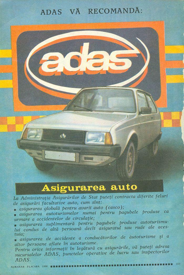 Reclama ADAS - #retro #advertising #romania