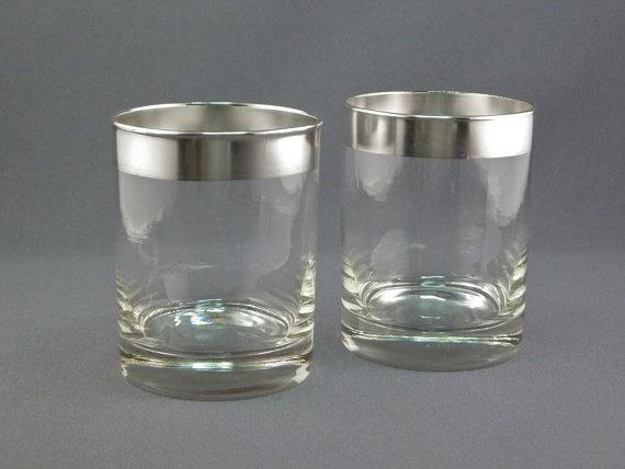 Dorothy Thorpe Rocks Glasses Set Of 2 Glass