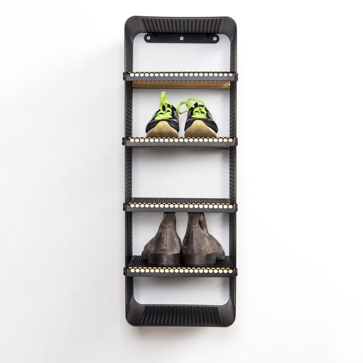 Tica Copenhagen | Shoe rack black | Storage | Closet