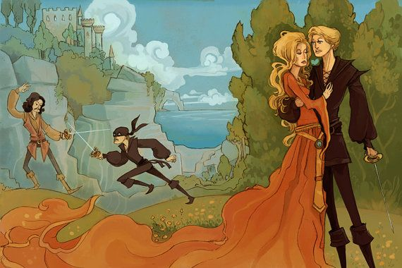 As You Wish Princess Bride Inspired 8x12 print by theGorgonist, $12.00