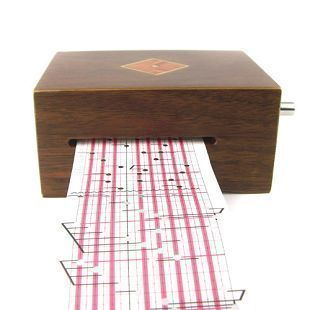 2012 wooden hand tape music box DIY high quality vintage business gift Hallowmas gift on AliExpress.com. $200.00