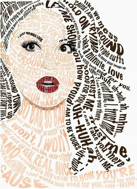 Tipography Selena Gómez