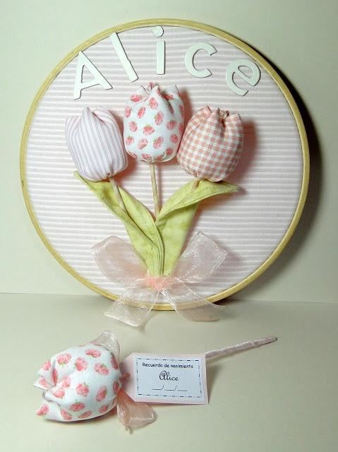tutorial fabric tulip