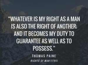 thomas paine rights of man quotes