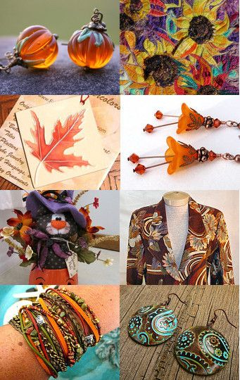 Colors of Fall -- by JeanstoJewels.etsy.com