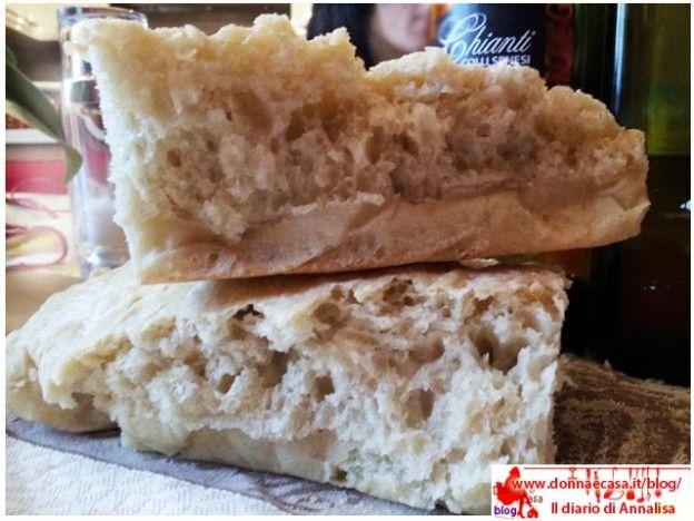 Pane senza sale, tipo pane toscano