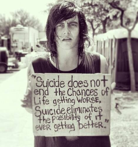 Suicide Prevention...  this is something we need to pay more attention to. Unfortunately we don't pay attention until someone close to us does it. R.I.P. Uncle David