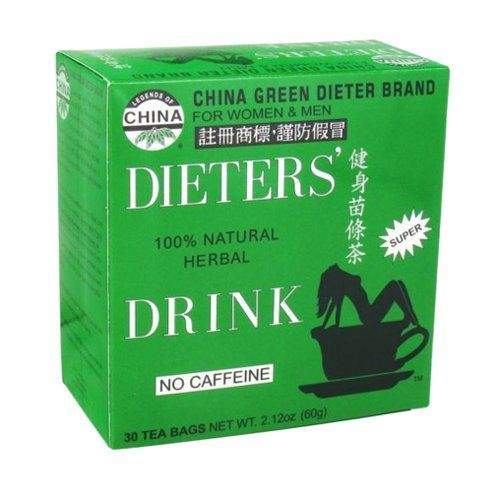 Uncle Lees China Green Dieters Tea Caffeine Free  30 Tea Bags 212 oz -- Want to know more, click on the image.