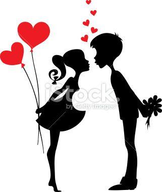 Resultado de imagen para silhouette love