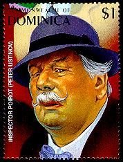 Peter Ustinov as Inspector Hercule Poirot. Not on Orient Express though.