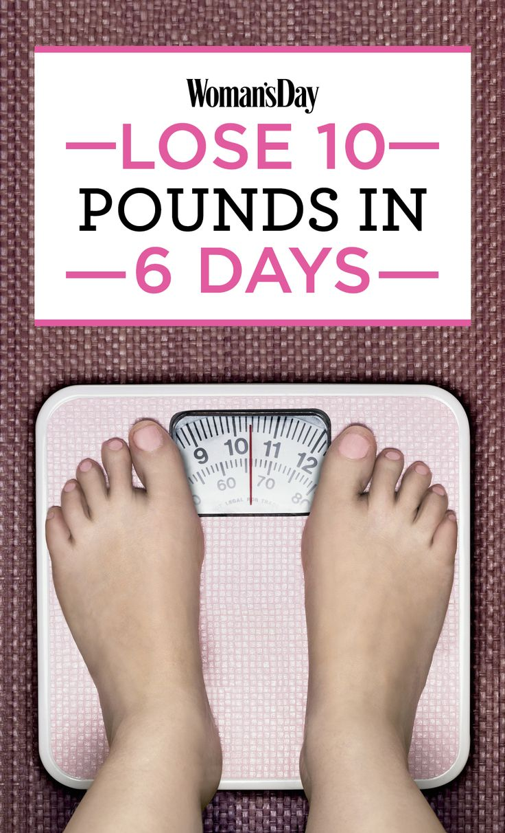 All about Weight loss An Easy 6-Day Plan To Lose 10 Pounds