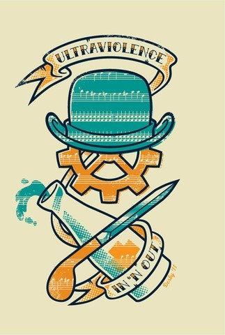 Droogy good!: Tattoo Ideas, Aclockworkorang Ultraviol, Orange Color, A Clockwork Orange, Get A Tattoo, Movies, Poster, Film Music Book, Cartaz De Boas-Vinda