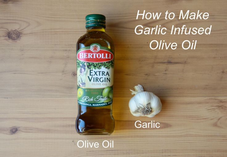 How-to Garlic infused Olive Oil