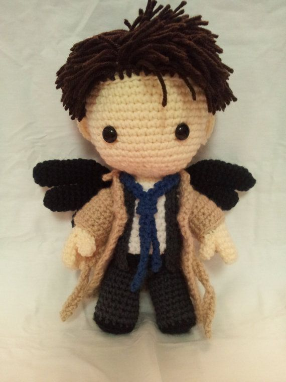 Castiel  Supernatural  MADE TO ORDER by ArtisticGaming on Etsy, $85.00