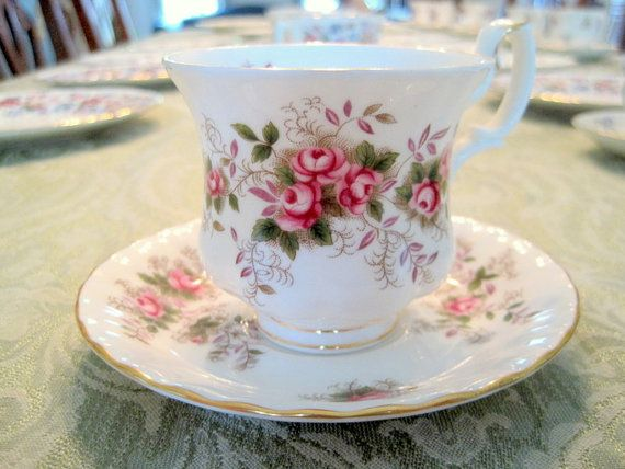 Royal Albert Bone China England Tea Cup & Saucer by MySongsDesigns, $28.99