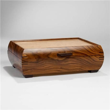 Handmade Wooden Boxes Ideas | Mike Mikutowski-Large Handmade Wood Jewelry Box - Rosewood and ...