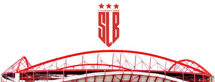 SL Benfica Rebranding https://www.behance.net/gallery/49060725/SL-Benfica-Rebranding