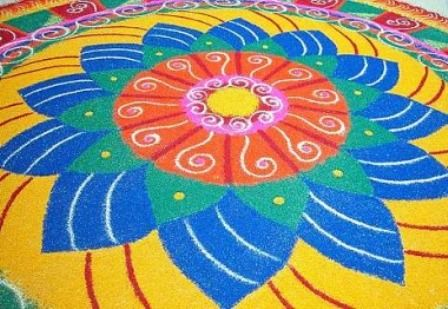 9 Best Big Rangoli Designs With Pictures