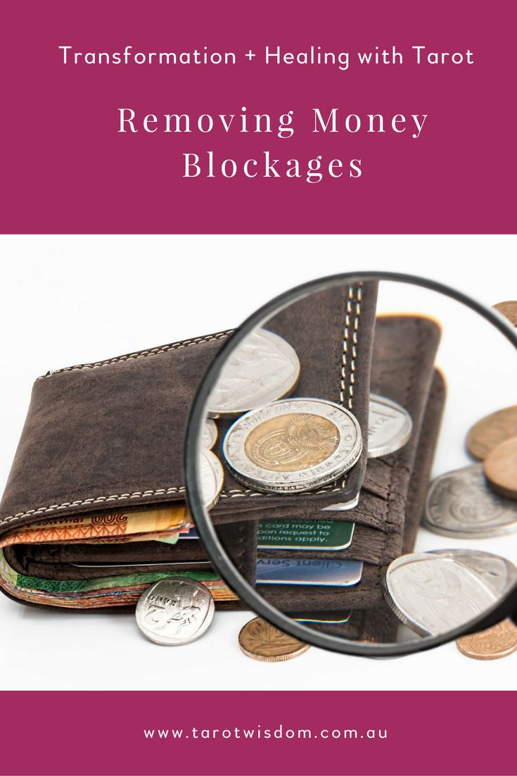 Learn how to remove blockages around Money, success + abundance