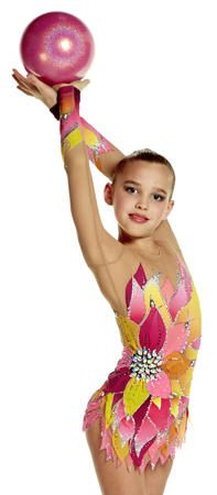 Dahlia Rosso Rhythmic Leaotards: Pastorelli Collection 2014/2015 Pastorelli Sport Rhythmic Gymnastics