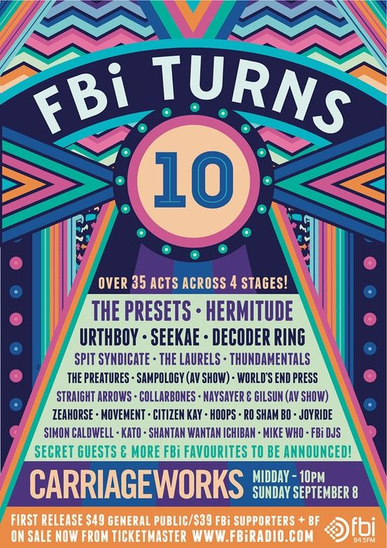 FBI 10th Birthday! Sponsored by AIM  #FBI #AIM