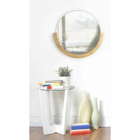 1000 id es propos de d corer un miroir sur pinterest for Miroir rond entree