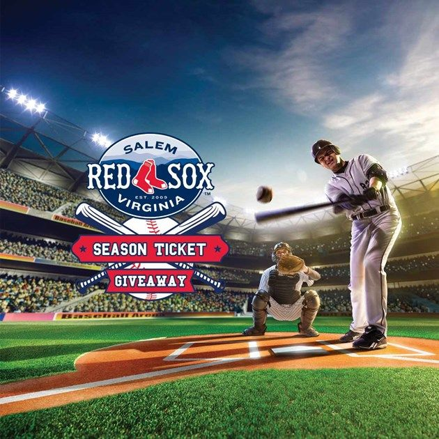 Check out Red Sox 2016 Season Tickets Giveaway from Roanoke Times - http://roanoke.secondstreetapp.com/Red-Sox-2016-Season-Tickets-Giveaway/referrals/c6658679-f87c-44e2-8454-3caa5c3d7a84