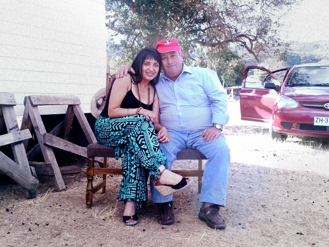 pero que foto saque con el abuelo mas nanai :33