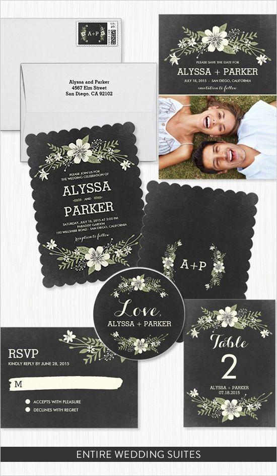 Classy Wedding Invitation Suite By Zazzle. #weddingchicks  Http://www.weddingchicks