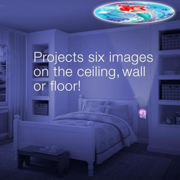 Kids Projectable Night Light LED Plug-In Children Bedroom Home Decor Six Images