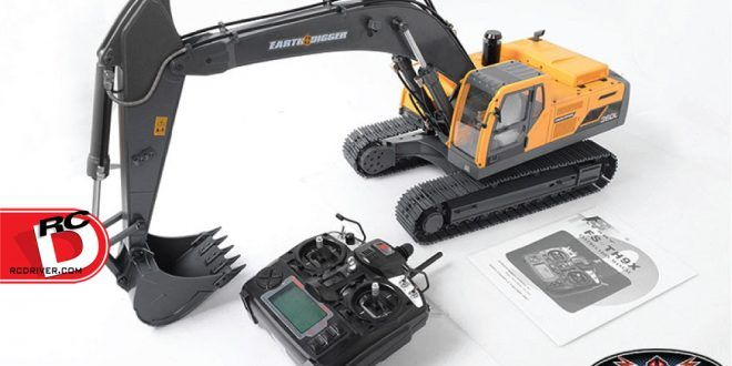 The 1/14 Scale Earth Digger 360L Hydraulic Excavator (RTR) from RC4wd - RC Driver