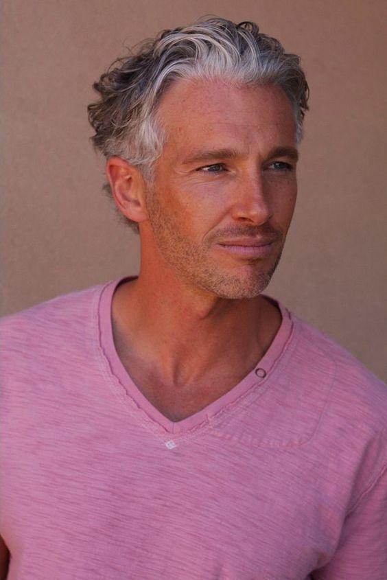 32 Older Men Hairstyles Grey Hair Men Older Mens