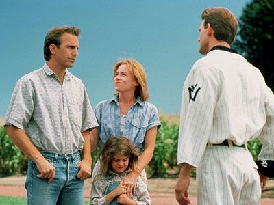 Baseball, dreams, parenthood, and love, all wrapped up in one pretty package. Is this Heaven?