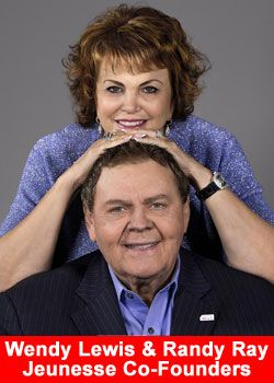 Jeunesse Global finishes 2014 year breaking records.  Randy Ray, Wendy Lewis, Jeunesse, CEO