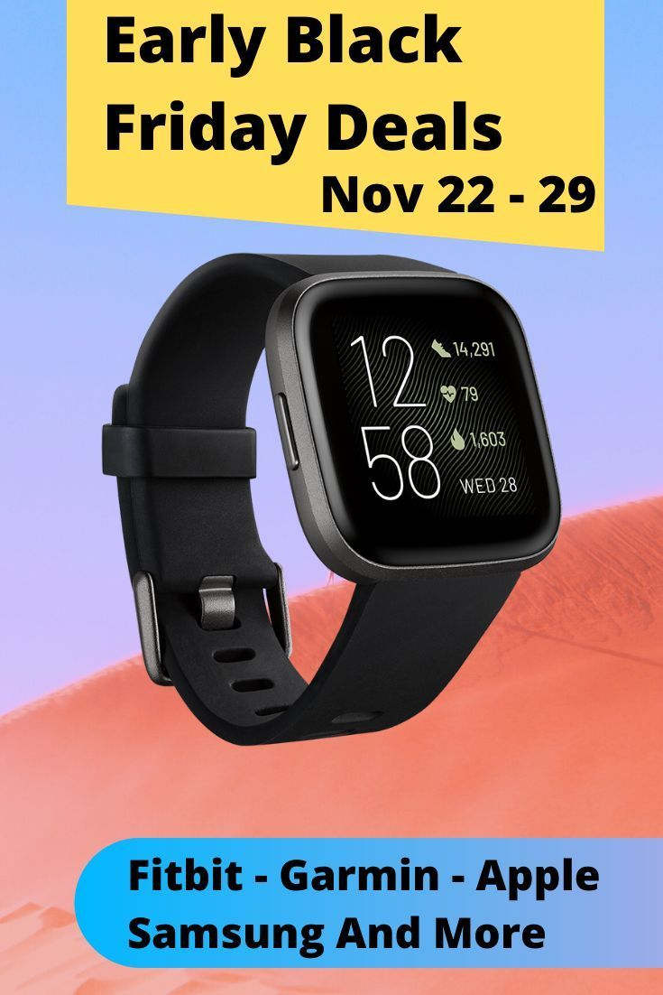 Black Friday Deals 2019 Smartwatch And Fitness Trackers Fitness Watches For Women Fitness Tracker Womens Health Fitness
