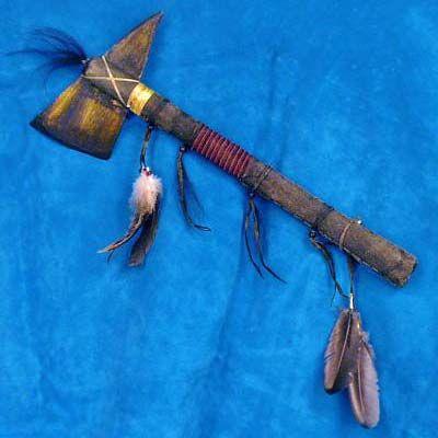 Native American Buffalo-Bone Tomahawk
