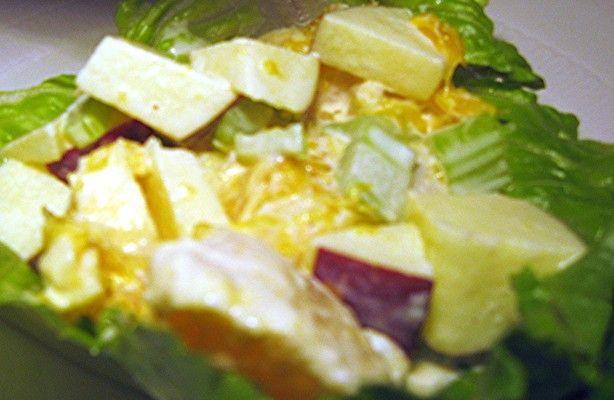 Orange Waldorf Salad