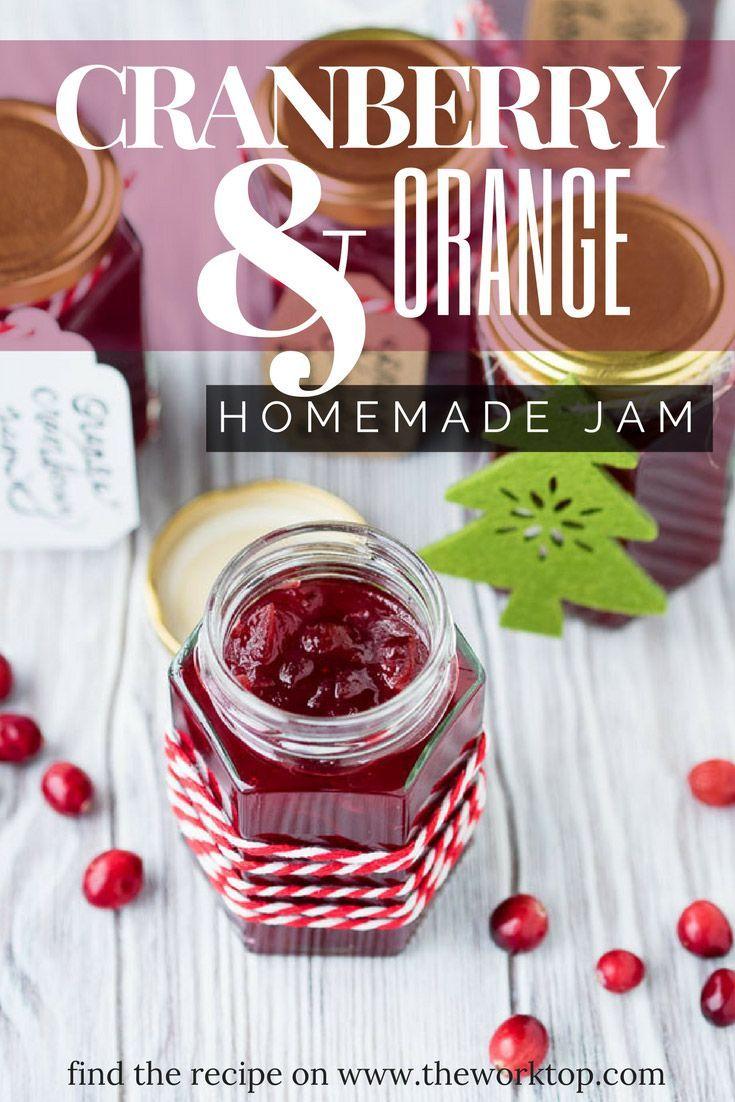Cranberry Orange Jam (Marmalade)