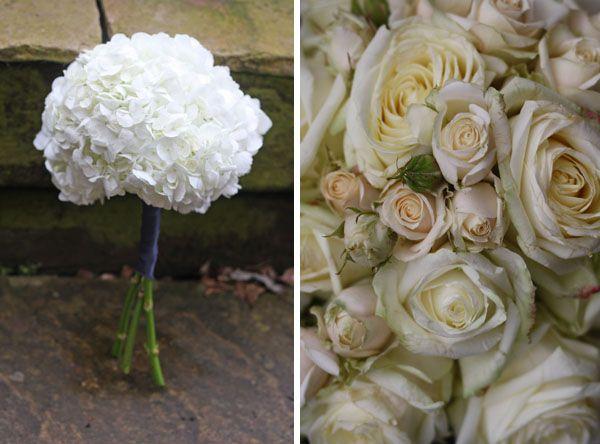 Moxhull Hall Wedding Flowers | Ivory #wedding #flowers www.passionforflowers.net