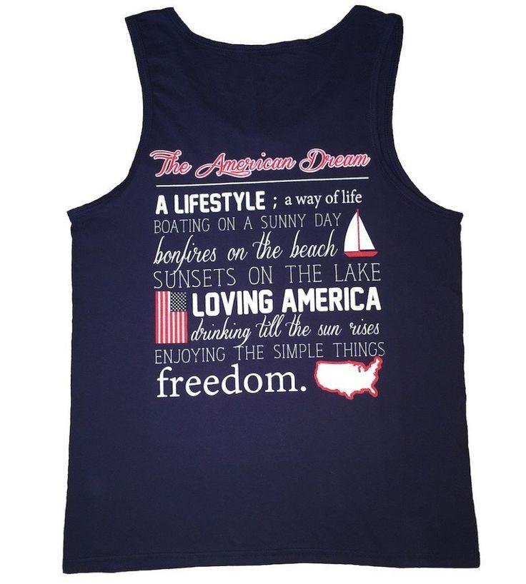 'American Dream Definition' Tank Top