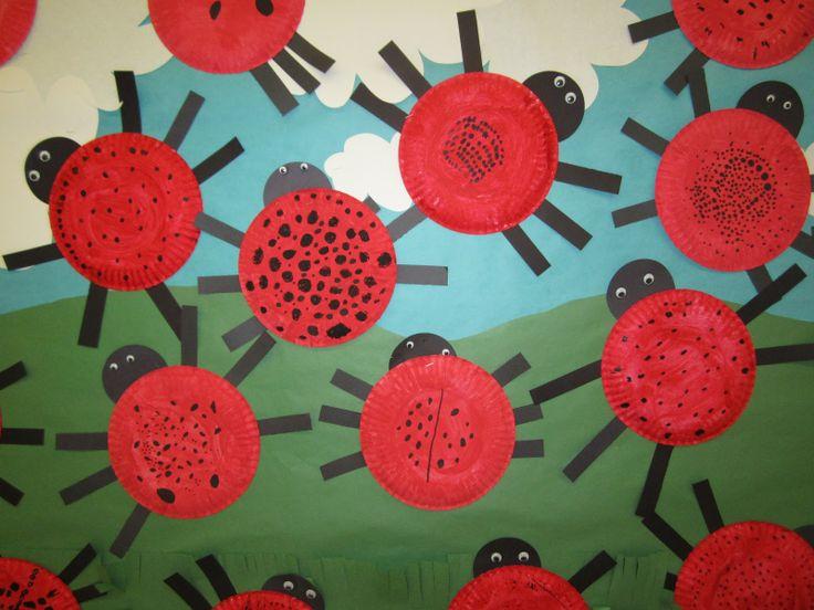 ladybug bulletin boards | Ladybugs, Ladybugs - Cute Bulletin Board Idea!