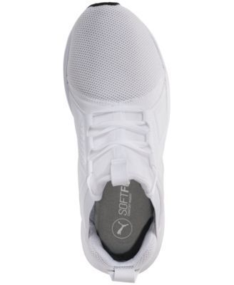 Puma Men's Enzo Mesh Casual Sneakers from Finish Line - White 11.5
