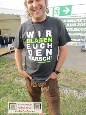 Musikprob Pfullendorf BauFachForum Baulexikon die Innsbrucker Böhmische Thema: Geile Sprüche vom Papi.